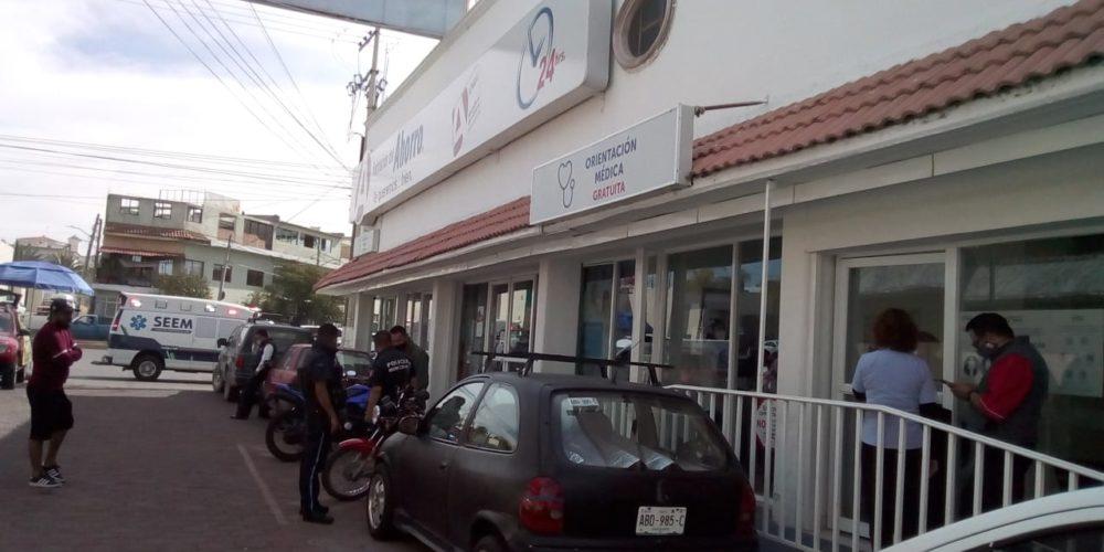 """Muere anciana en farmacia de Aguascalientes por """"neumonía atípica"""""""