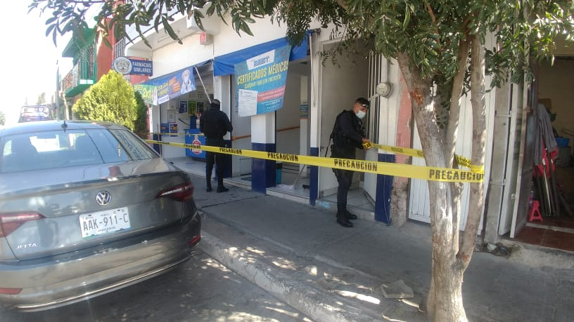 Muere joven al interior de consultorio en Aguascalientes