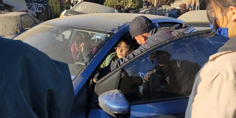 Perdió el control del volante y sufrió un accidente en Los Arellano