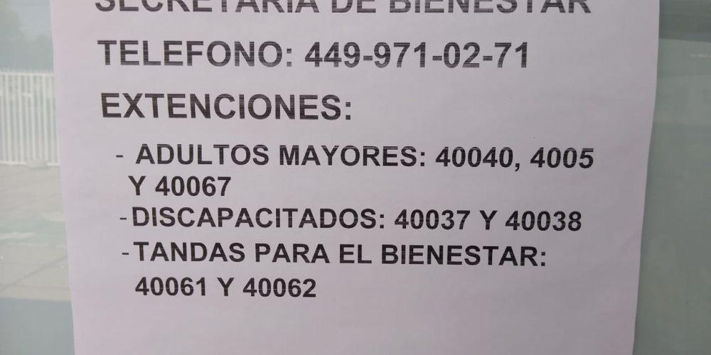 Denuncian a la Secretaría de Bienestar en Aguascalientes por no brindar atención