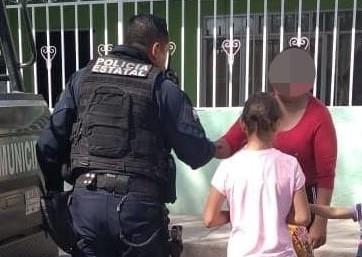 Localizan a niña de 10 años extraviada en Cosío