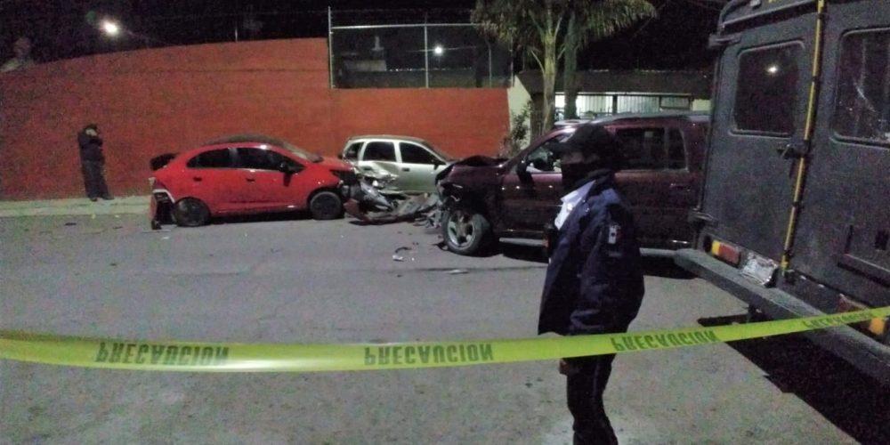 Aparatoso accidente deja 1 muerto en Aguascalientes