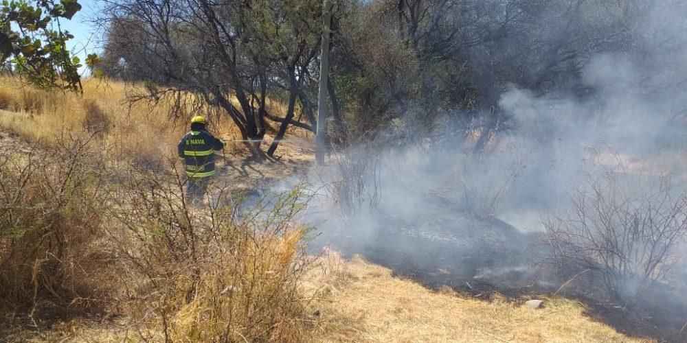 Se registra otro incendio más en La Pona