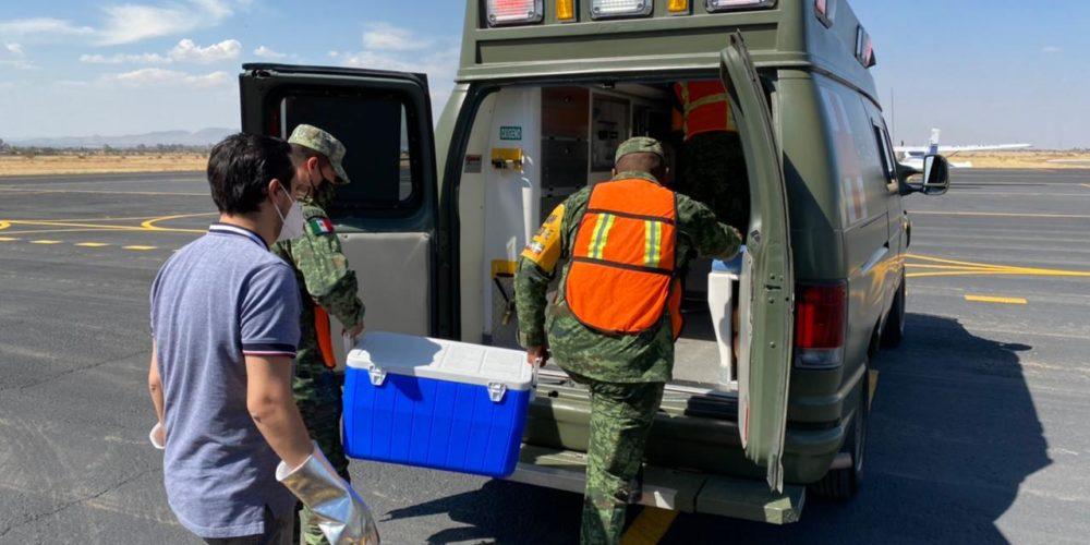 Llegan más de 5 mil vacunas de Pfizer a Aguascalientes