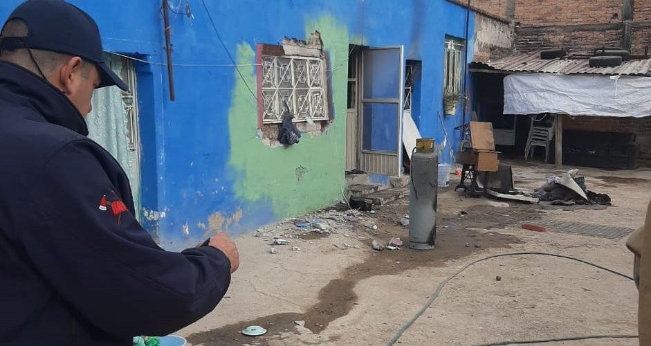Incendio provocado por fuga de gas deja un lesionado en Jesús María