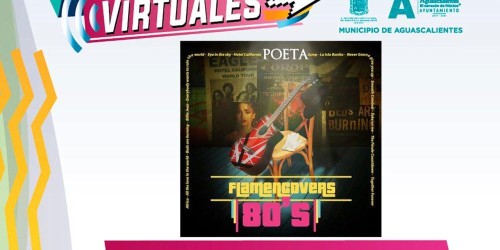 No te pierdas el concierto virtual de Flamencovers 80´s