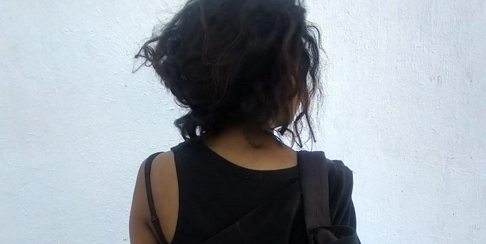 Reyna quiso robar en Soriana, la cacharon y se puso al brinco