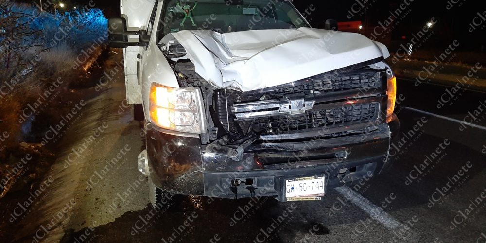 Se cruzó sin fijarse, fue atropellado y murió en carretera a Loreto, Zacatecas