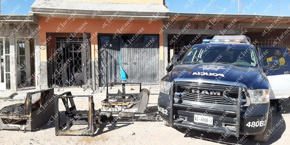 Joven mujer incendia su casa, 1 de sus hijos muere, otro grave, luego se suicida en Aguascalientes