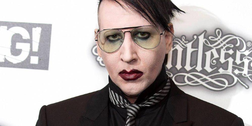 Marilyn Manson se queda sin disquera tras ser acusado de abusos