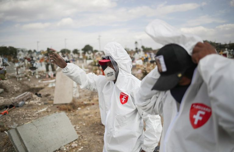 México alcanzó las 171,234 defunciones confirmadas por covid