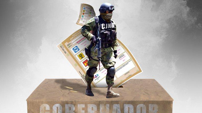 Con despensas, propaganda y narcofinanciamiento el CJNG se prepara para las elecciones 2021