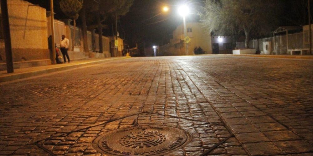 JM rehabilita vialidades en la comunidad de El Maguey