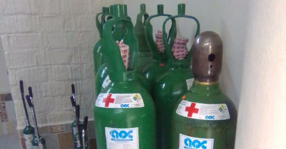 Guardia Sanitaria asegura 27 tanques de oxígeno en El Llano