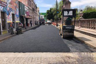Ayuntamiento rehabilita calles del Barrio de San Marcos