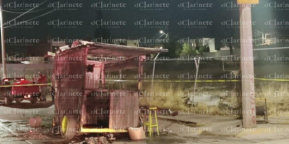 Explosión en puesto de tacos dejó 3 heridos en Haciendas de Aguascalientes