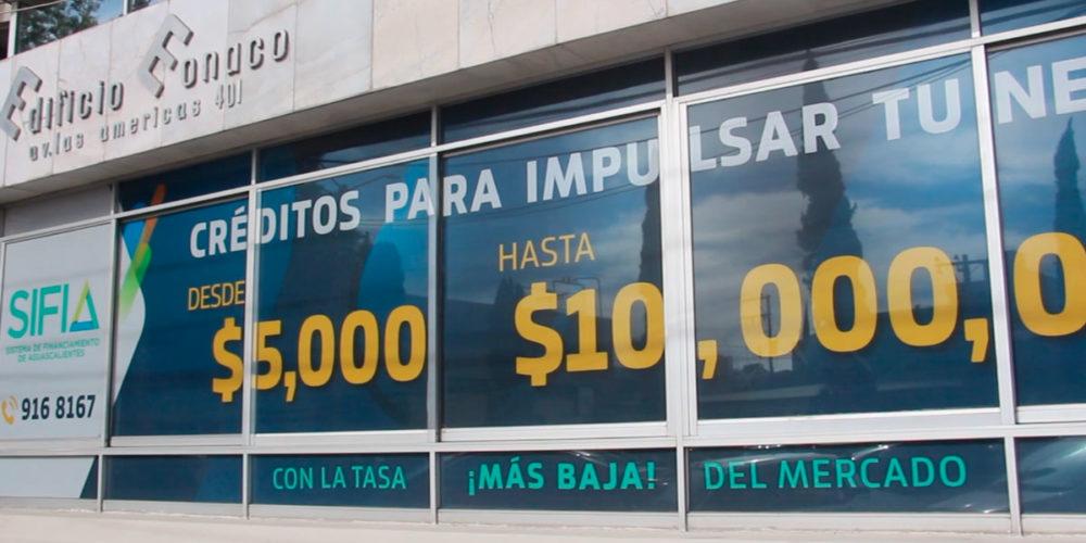 SIFIA baja tasa de interés en programas de créditos