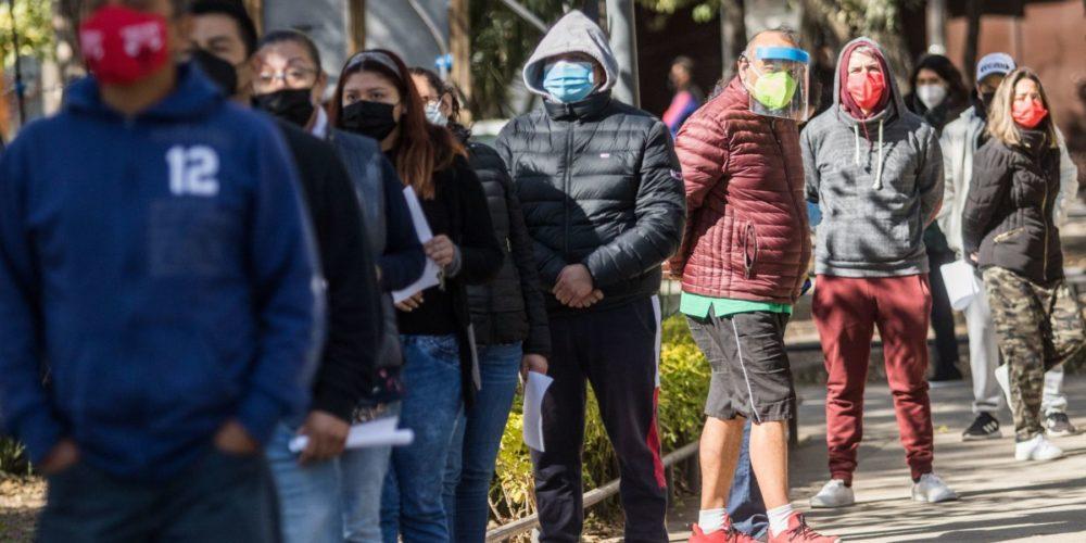 Van 166 mil 200 decesos por Covid-19 en México