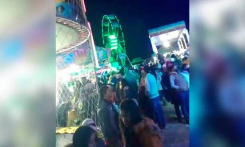 """Realizan fiesta patronal en comunidad de Puebla; estaban """"respaldados por Dios"""""""