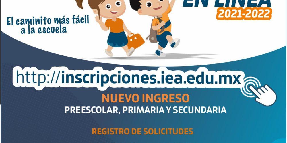 Este lunes cierran inscripciones en línea para educación básica