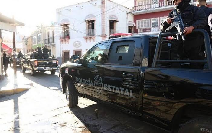 Lo levantaron en Aguascalientes. Lo tiraron en  Teocaltiche, Jalisco y murió