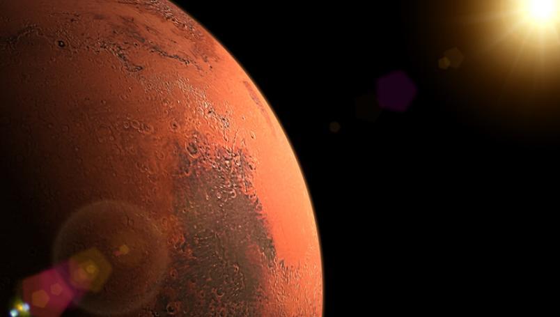 Encuentran en Marte el dibujo de un ángel y un corazón