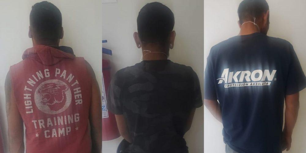 Detienen a 3 por robar en salón de usos múltiples del Guadalupe Peralta
