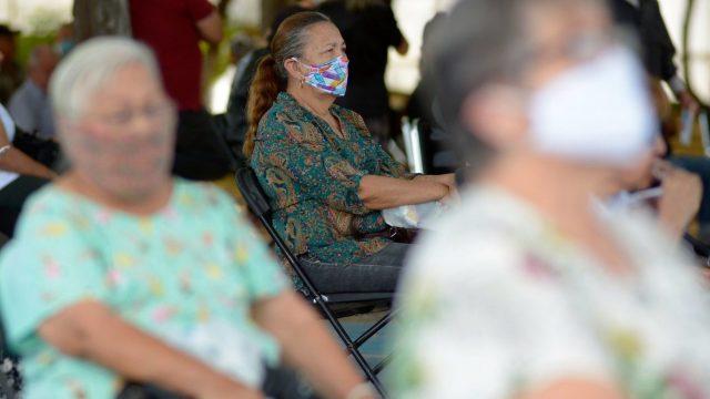 Protestan jubilados del ISSSTE por reducción en sus pensiones