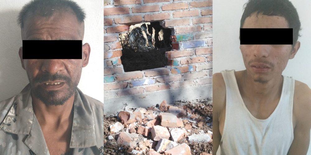 Por robo tipo boquetazo detuvieron a Juan Martín y Alejandro