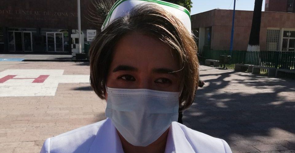 Suman 10 enfermeras del IMSS que han fallecido por Covid: Viguerías