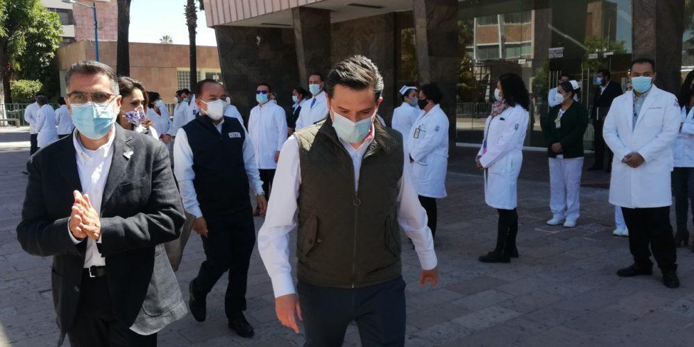 Promete Robledo sancionar casos de negligencia en el IMSS Aguascalientes
