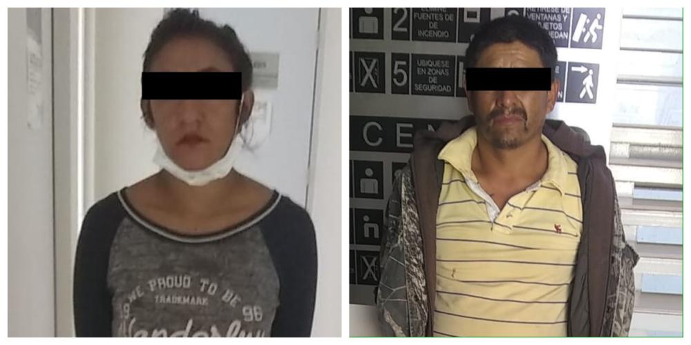 Detienen a delincuentes que a bordo de un taxi asaltaron a una central de gas