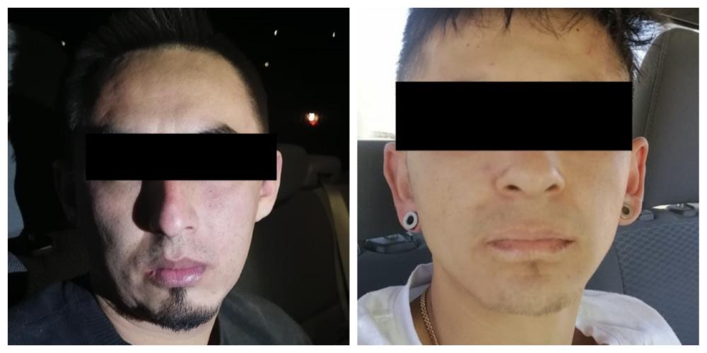 Detienen con droga a  Cristian y Juan Luis en Asientos