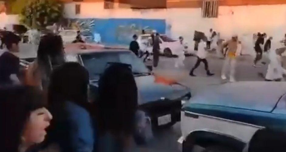(Video)Bailazo en el Infonavit Morelos termina en riña