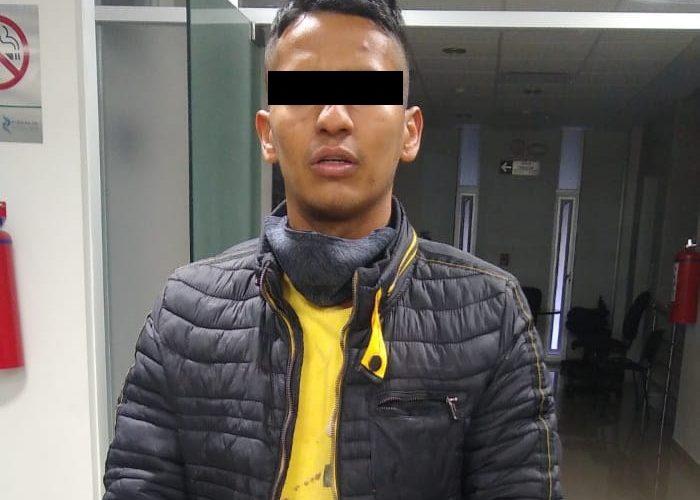 Por robo tipo fardero, sujeto fue detenido en el municipio de Jesús María