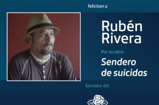 Rubén Rivera gana premio Bellas Artes de Poesía Aguascalientes 2021