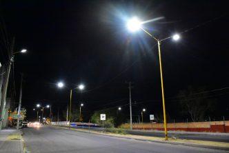 Al 98% la instalación de luminarias led en el municipio de Aguascalientes