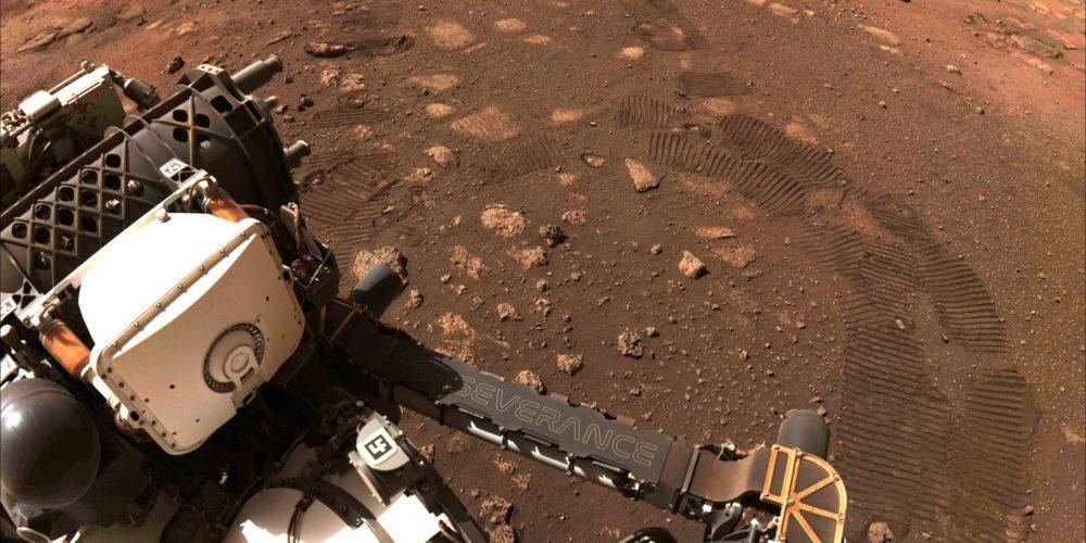 Perseverance comienza sus primeras exploraciones en Marte