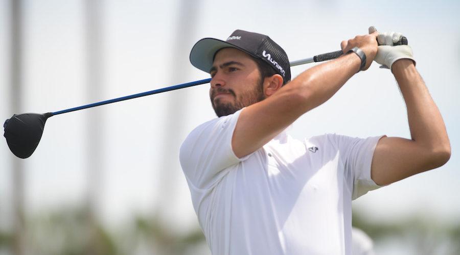 El mexicano Álvaro Ortiz lidera el 61º Abierto Mexicano de Golf