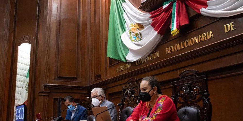 Batea Congreso Aguascalientes propuesta de comisión para investigar 8M