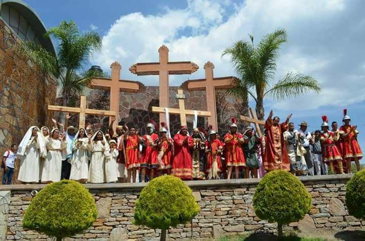 Anuncian representación del Vía Crucis en San José de Gracia a puerta cerrada