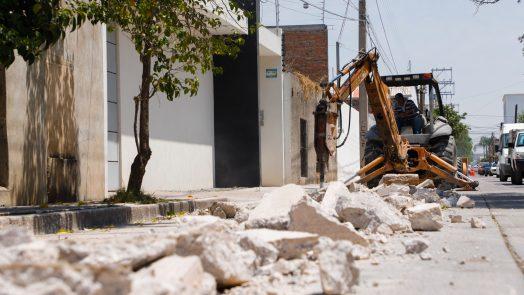 Municipio realiza obras de rehabilitación en red de agua potable de San José del Arenal y Cerrito de la Cruz
