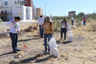 Municipio realiza jornada ambiental en arroyo Morelos