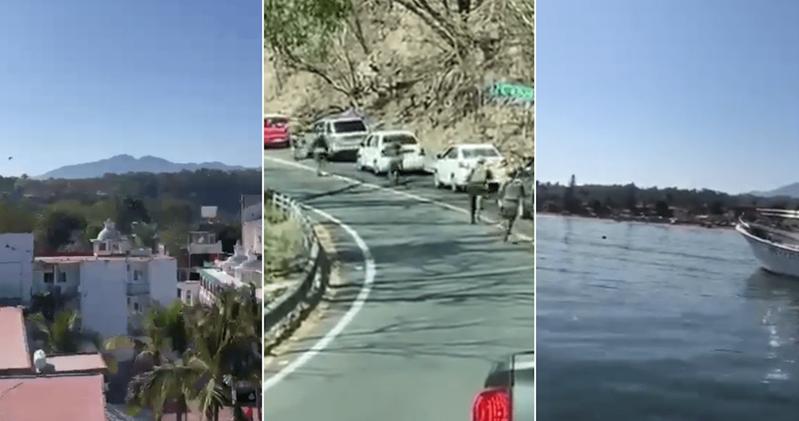 (Videos) Se registra balacera en Guayabitos, Nayarit