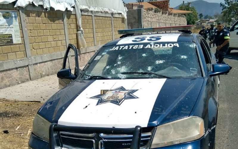 Van 25 detenidos por masacre contra policías en Edomex