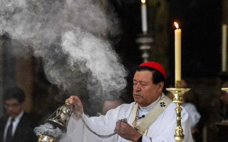 Cardenal Norberto Rivera vence al Covid-19