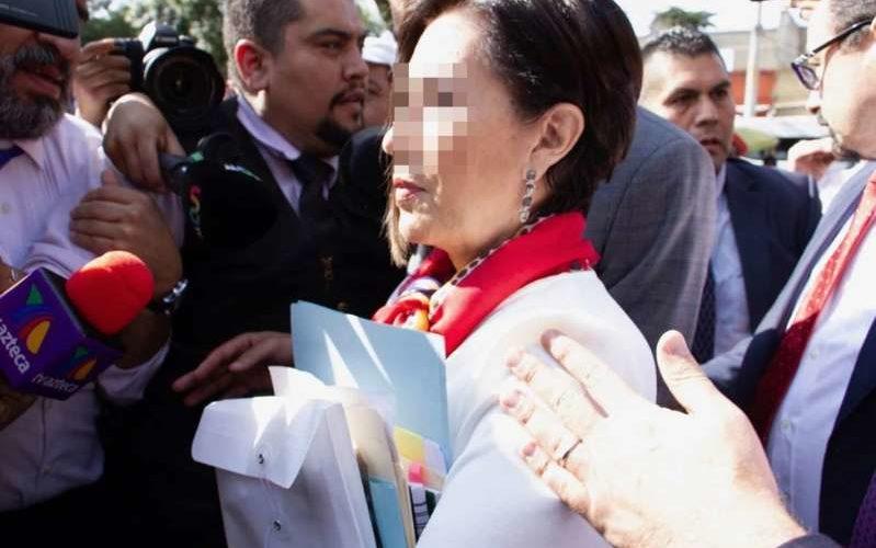Rosario Robles  no se declara culpable; va a juicio