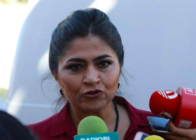 Simulación de Nora para ser elegida coordinadora de campaña: Martínez