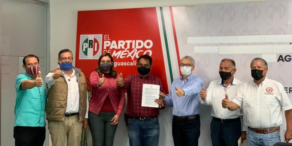 Ex PAN, Morena y RSP candidato del PRI en Aguascalientes
