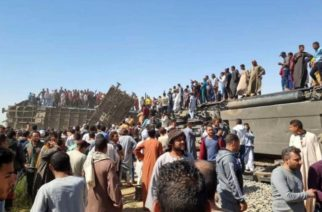 Choque de trenes en Egipto deja 32 muertos y más de 160 heridos